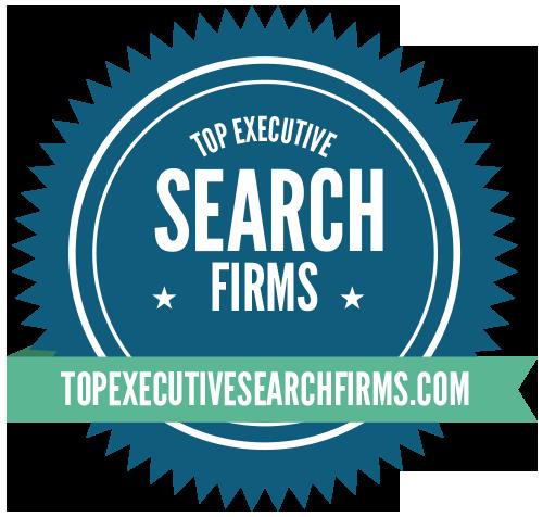 Top Executive Search Firms - Badge